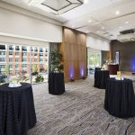 A spacious event venue at the Arundel Hotel in Hanover, MD