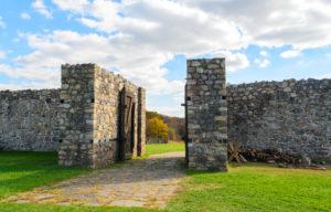 fort entrance at Fort Frederick State Park