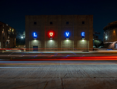 American Visionary Art Museum - LOVE Sign - Baltimore, Maryland