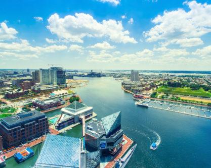 Inner Harbor of Baltimore, Maryland