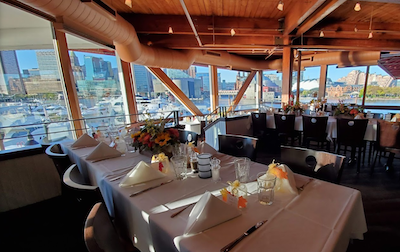Rusty Scupper dining room