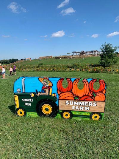 Summer's Farm Sign
